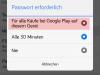 Nutzersteuerung - Passwort für Käufe erforderlich