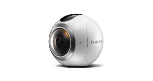 Samsung präsentiert die innovative Gear 360 Kamera