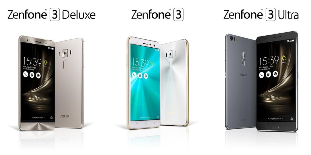 Photo of ASUS Zenfone 3, Deluxe und Ultra offiziell vorgestellt