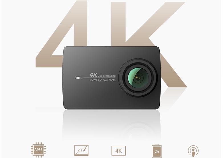 Photo of Xiaomi Yi Action Camera 2: Zeichnet in 4K/UHD auf und mit Display