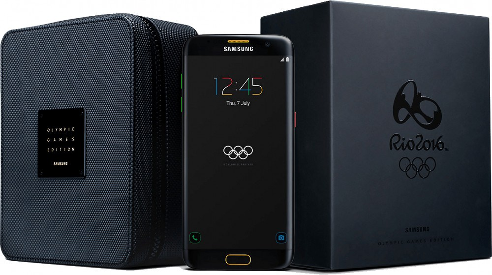 Photo of Samsung Galaxy S7 edge Olympic Games Limited Edition bei digitec.ch verfügbar