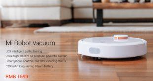 Schnäppchen-Alarm: Xiaomi Mi Robot Vacuum für nur 263 Euro!
