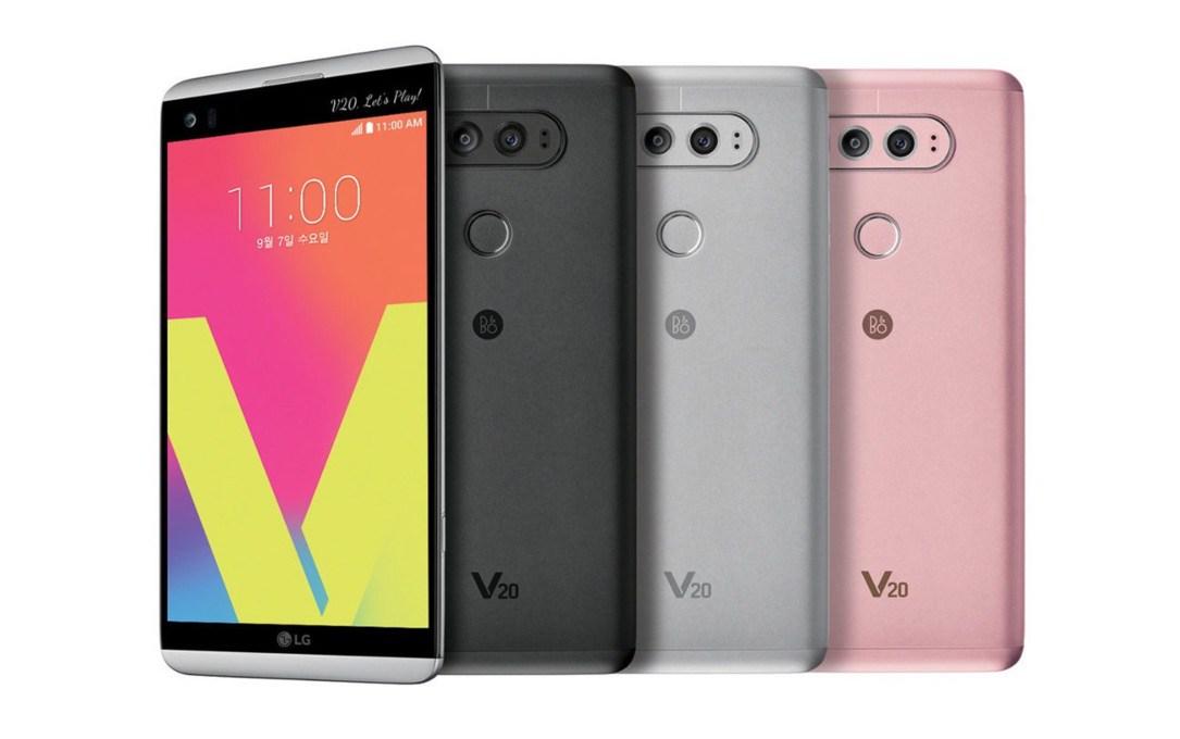 Photo of LG V20: Neues Highend-Smartphone mit Android 7 Nougat offiziell vorgestellt