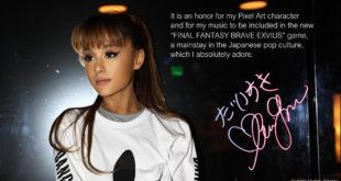 FINAL FANTASY BRAVE EXVIUS – Ariana Grande kehrt mit brandneuem Charakter zurück
