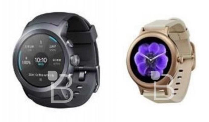 Photo of LG Watch Sport und Watch Style zeigen sich auf erstem Bild