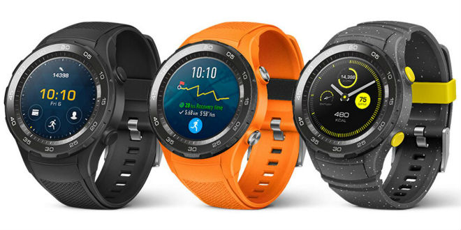 Huawei Watch 2 zeigt sich in voller Pracht, inkl. SIM-Slot
