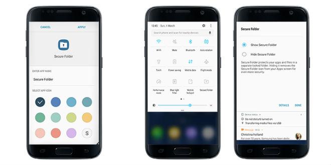 """Samsung veröffentlicht """"Secure Folder"""" für Galaxy S7 (edge)"""