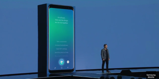 """Samsung Galaxy S8(+): Smarter Assistent """"Bixby"""" ab sofort verfügbar, aber …"""