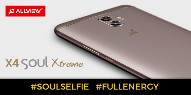 Allview stellt sein neues Flagschiff vor: X4 Xtreme