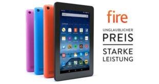 Schnäppchen: Amazon Fire Tablet heute für 40 Euro