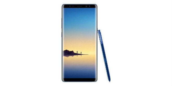 Samsung Galaxy Note 8 zeigt sich in Deep Sea Blue