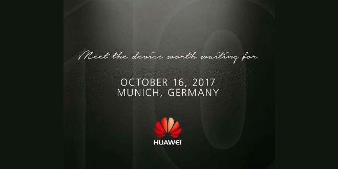 Huawei Mate 10: Die Präsentation erfolgt am 16. Oktober 2017