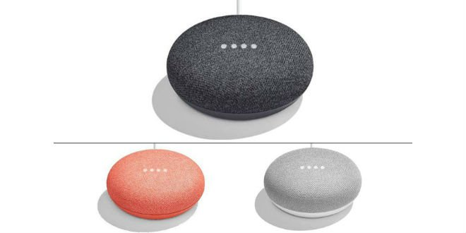 So sieht Google Home Mini aus