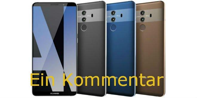 Photo of Huawei Mate 10 und Mate 10 Pro: Mein Senf zu den neuen Smartphones