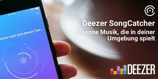 Deezer stellt neue Funktion zur Musikerkennung vor