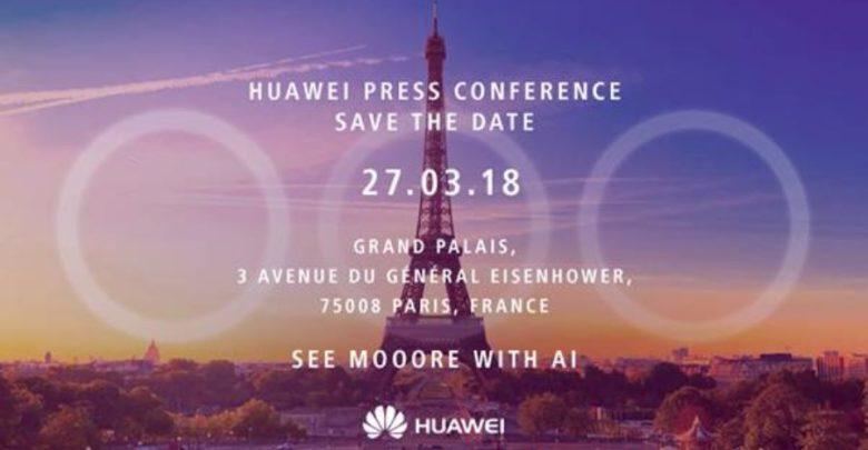 Huawei Presseevent Paris