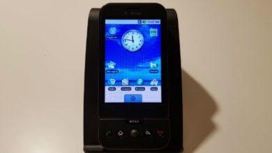 Das T-Mobile G1 aka HTC Dream