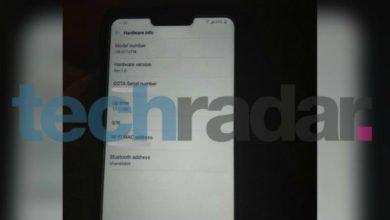 Photo of LG G7 ThinQ zeigt sich auf zwei neuen Fotos