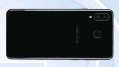 Samsung Galaxy S9 mit Dual-Kamera
