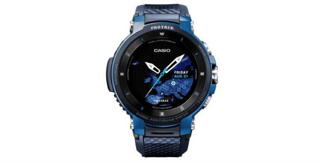 casio pro trek wsd f30 neue outdoor smartwatch mit dual. Black Bedroom Furniture Sets. Home Design Ideas