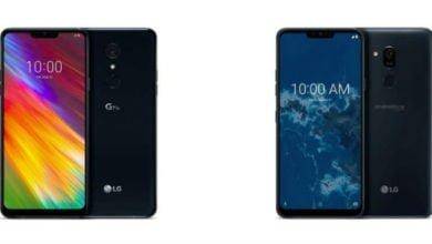 LG G7 One und G7 Fit