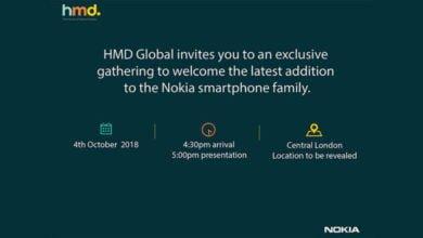 HMD Global Invite Oct. 18
