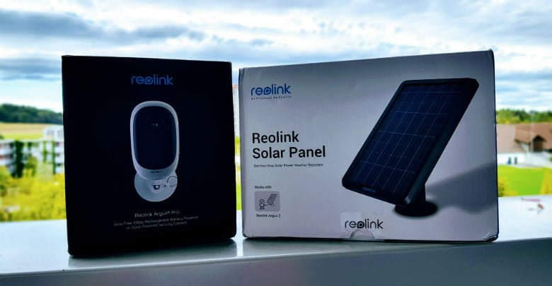 reolink argus pro und solar panel im test kabellose. Black Bedroom Furniture Sets. Home Design Ideas