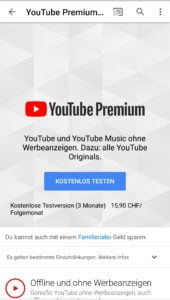 YouTube Premium Music / YouTube