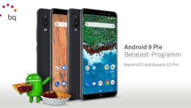Photo of BQ Aquaris X2 und Aquaris X2 Pro: Android 9 Pie wird im Rahmen einer Beta getestet