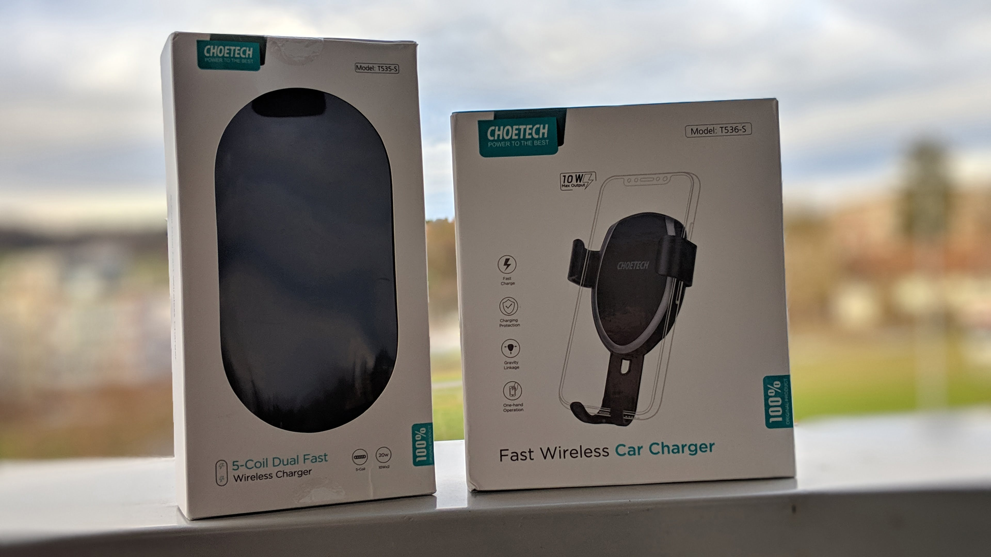 choetech fast wireless car charger im test. Black Bedroom Furniture Sets. Home Design Ideas