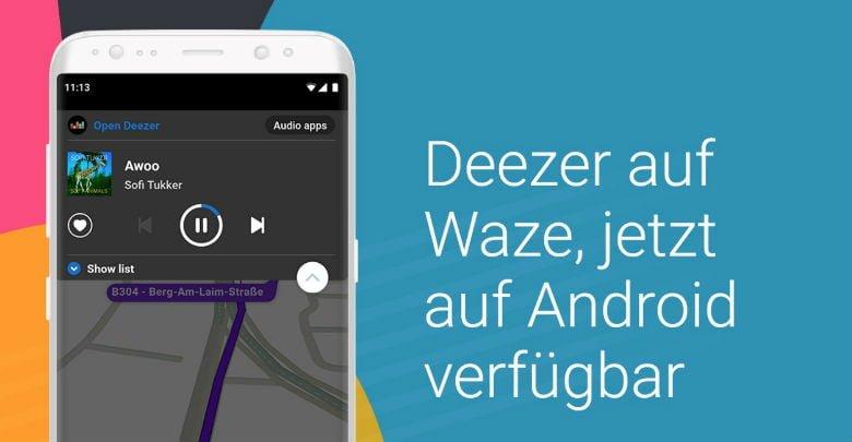 Deezer / Waze