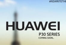 Huawei P30 (Pro) Event