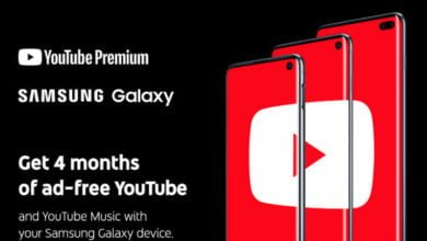 YouTube Premium / Samsung Galaxy S10