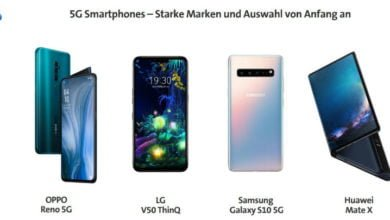 Photo of 5G-Smartphones: LG V50 ThinQ, Samsung Galaxy S10 5G und Huawei Mate X kommen in die Schweiz
