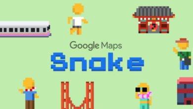 """Photo of Google Maps: Lust auf eine Runde """"Snake""""?"""