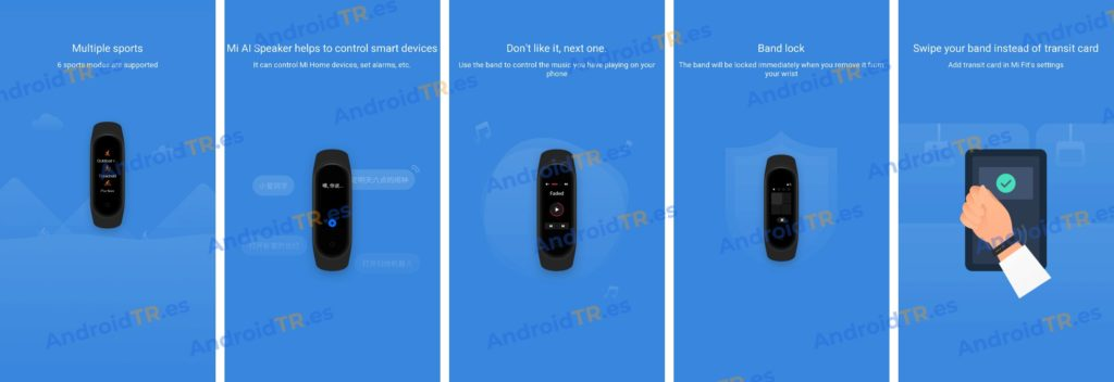 Xiaomi Mi Band 4 Features