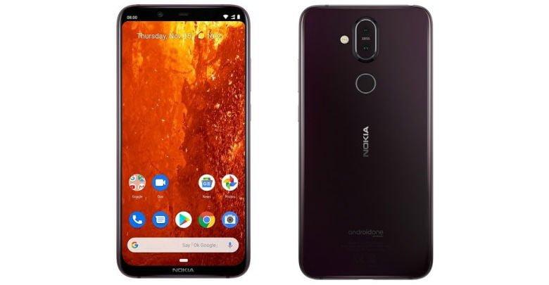 Nokia 8.1 in Iron