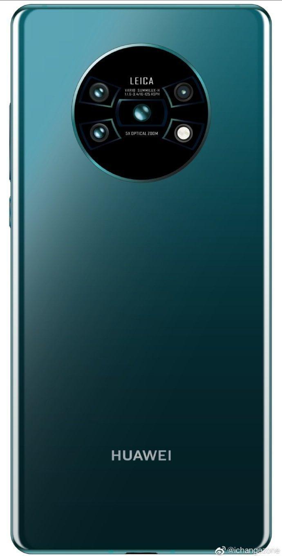Sehen wir hier die Rückseite des Huawei Mate 30?