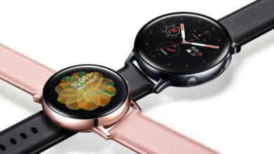 Photo of Samsung Galaxy Watch Active 2 bekommt ein neues Update