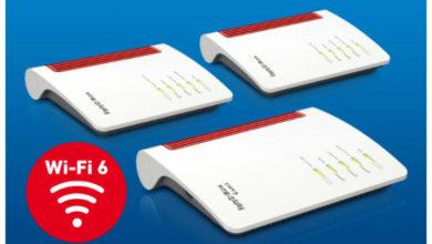 Photo of AVM stellt drei neue FRITZ!Box-Router mit WiFi 6 vor