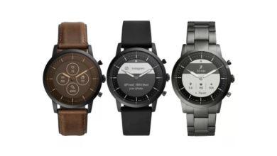 Photo of Fossil mit neuer Hybrid-Smartwatch mit E-Ink-Display und vier Wochen Akku