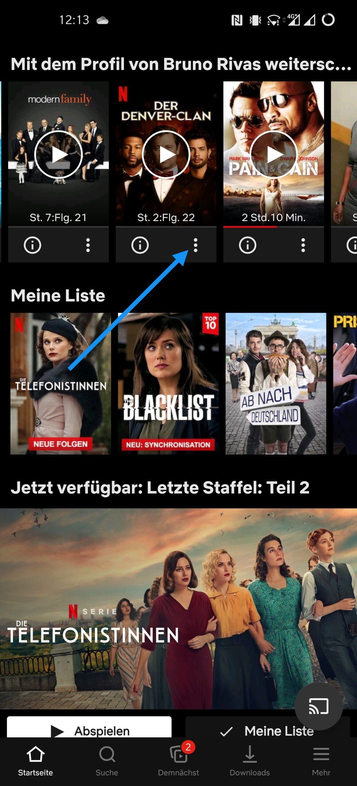 Netflix Titel Aus Weiterschauen Entfernen
