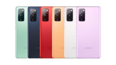 Das Samsung Galaxy S20 FE