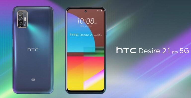 Das HTC Desire 21 Pro 5G